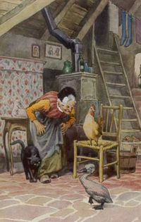 Paul-hey-the-ugly-duckling-at-home-with-the-old-woman-and-her-other-beasts
