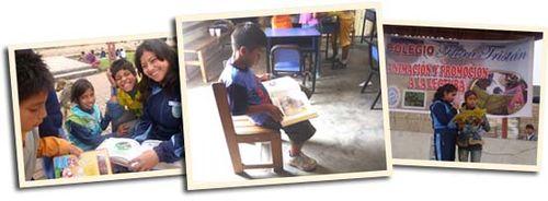 Salidas lectoras en Pachacutec - Maraton de cuentos