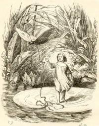 Pulgarcita y la mariposa de Thomas Vilhelm Pedersen