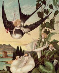 Thumbelina by Eleanor Vere Boyle - 1872