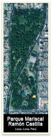 Parque Ramon Castilla vista satelital