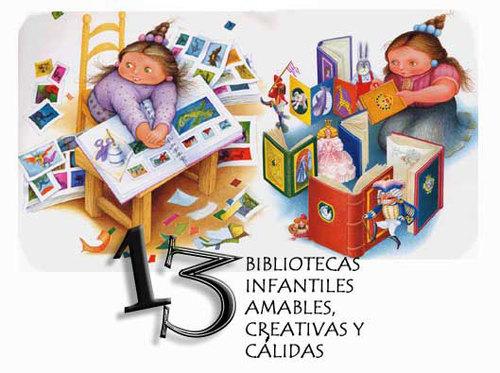 m- Bibliotecas infantiles
